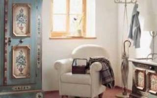Кружевное декорирование мебели, не имеющей дефектов
