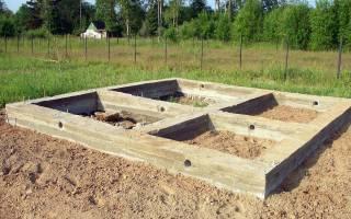 Как рассчитать кубы бетона на фундамент дома 6 на 4м?