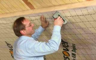 Как правильно положить пароизоляцию на потолок с стороны чердака?