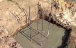 Фундамент для бани 3 5 на торфянике под винтовые сваи