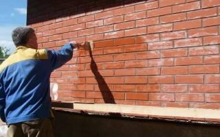 Чем покрыть фасадные кирпичные стены лаком или краской